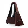 ABS Material Wood Color Mechanical Metronome for Guitar,Violin,Piano and Wind