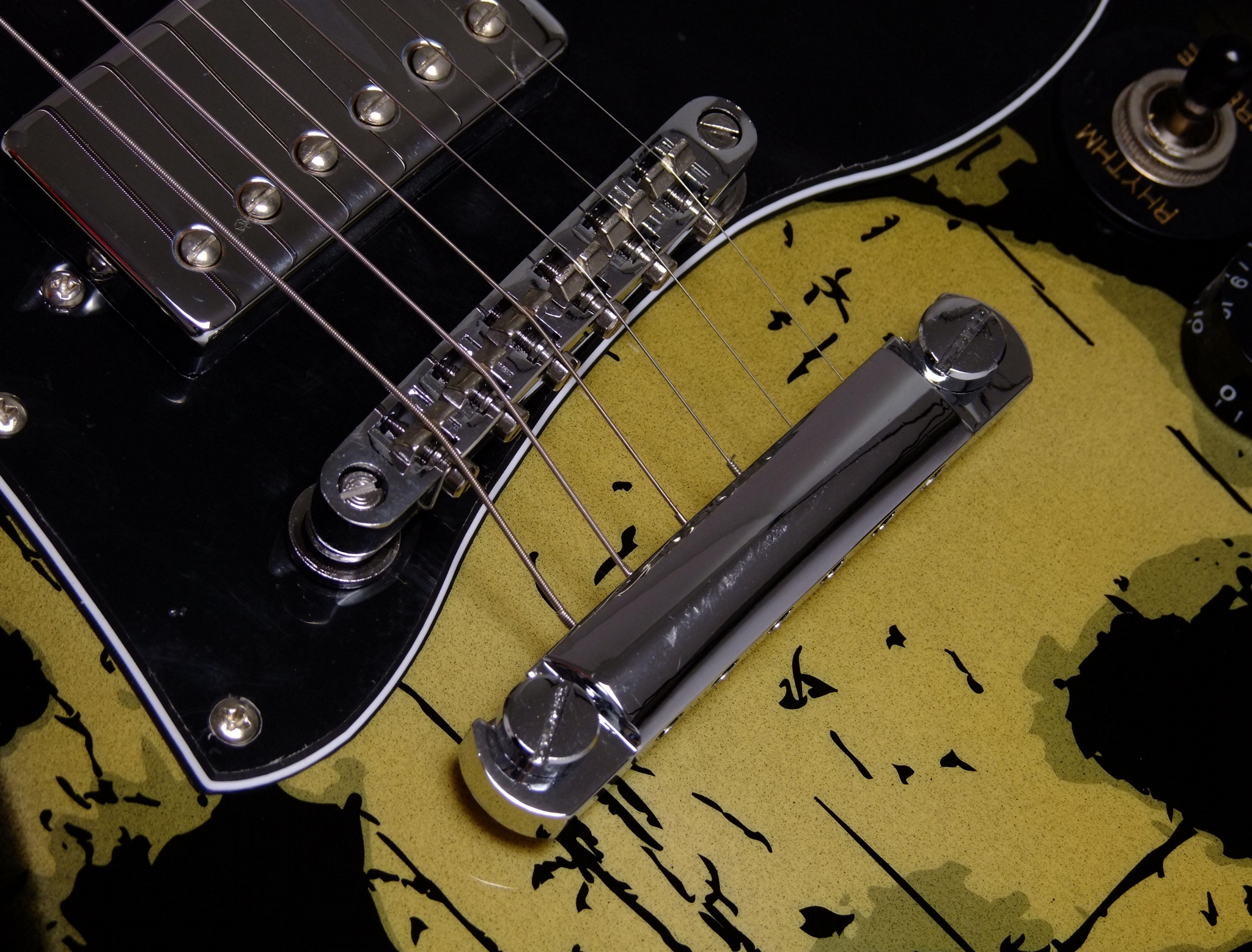 2020 Jingying Music SG Type Camouflage or Skulls Pattern Electric Guitars 5
