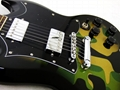 2020 Jingying Music SG Type Camouflage or Skulls Pattern Electric Guitars 11