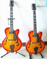 2020 Jingying Music High Quality Flamed Maple Jazz Electric Guitars
