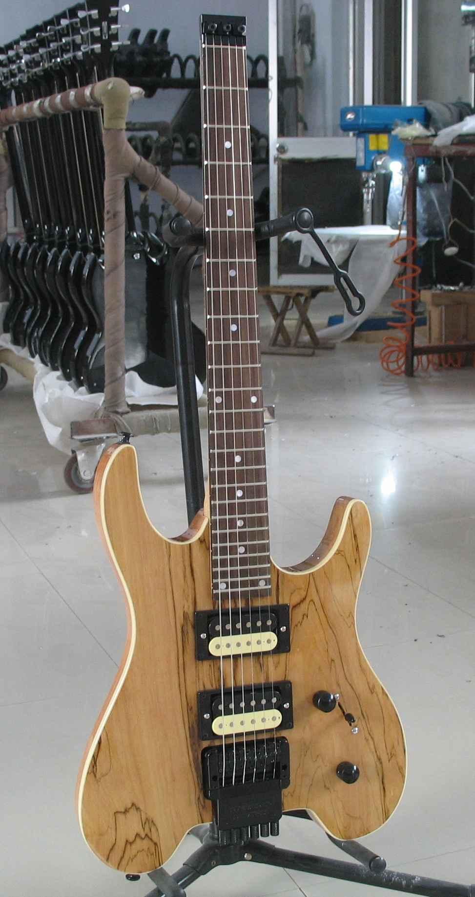2020 Jingying Music Hot Sale Headless Electric Guitars 7
