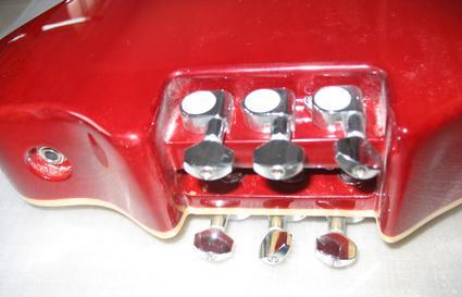 2020 Jingying Music Hot Sale Headless Electric Guitars 13