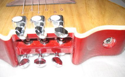 2020 Jingying Music Hot Sale Headless Electric Guitars 14