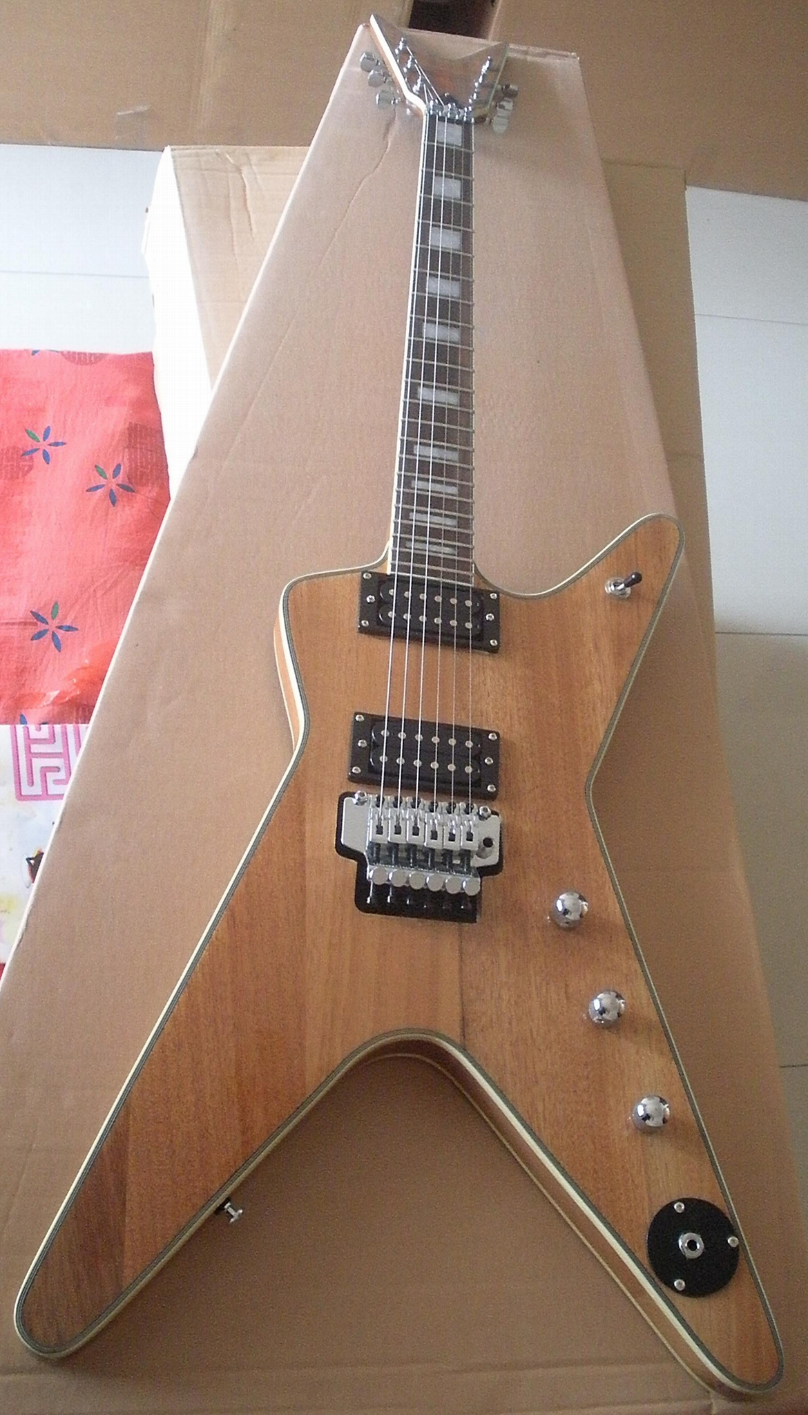 2020 Jingying Music Flying Style Electric Guitars 9