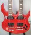 2020 Jingying Music Double Neck Style Electric Guitar and Bass Guitar 13
