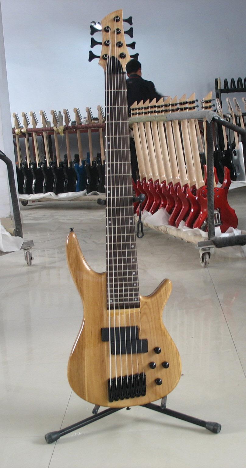 2020 Jingying Music Custom 7 Strings Electric Guitars and Bass Guitar 4