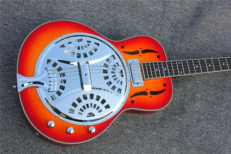 Professional Best Selling Products Acoustic Electric Resonator Guitar  8