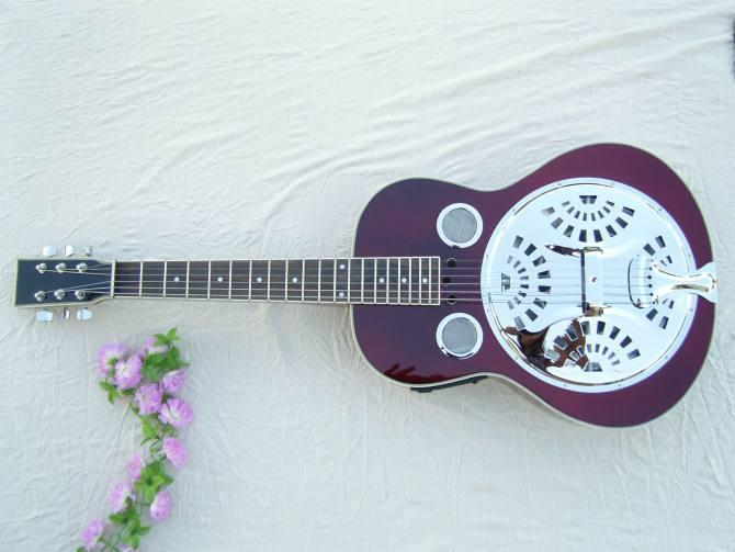 Professional Best Selling Products Acoustic Electric Resonator Guitar  19