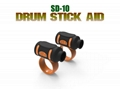 Drumsticks Aid Carrying Auxiliary Tool Assist Controlling Drummer Finger Twirl