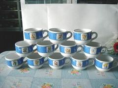 16oz ceramic soup mug fat mug cup