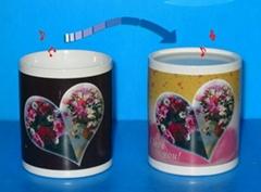 ceramic color changing mug magic mug gift cup