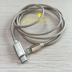 USB-C對LIGHTNING數據線