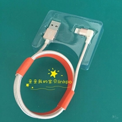 l shape Lightning cable