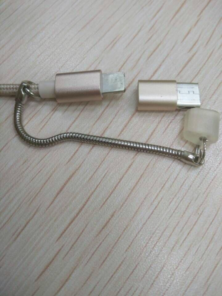 MICRO USB/lightning/type-c三合一數據線 2