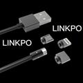iOS/MICRO USB/USB-C磁吸充電線 1