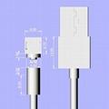iOS/MICRO USB/USB-C磁吸充電線 4