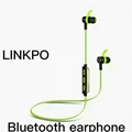 Bluetooth sports earphone