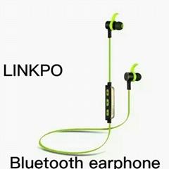 Bluetooth sports earphone