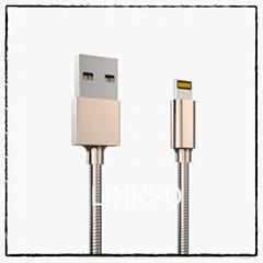 zinc alloy mfi lightning cable