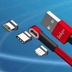 Magnetic cable for mobil