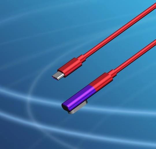 USB3.1 magnetic adaptor L-Shape 8