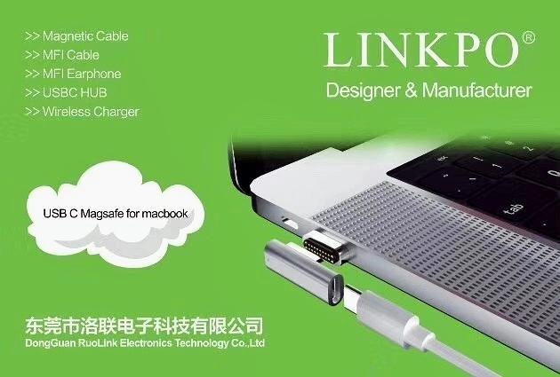 USB3.1 magnetic adaptor L-Shape 6