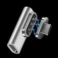 USB3.1磁吸轉接頭L形