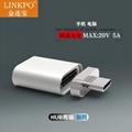 USB3.1 magnetic adaptor straight shape