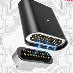 USB3.1磁吸轉接頭直頭