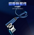 Magnetic cable for mobile game
