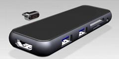USBC magnetic HUB (Hot Product - 1*)