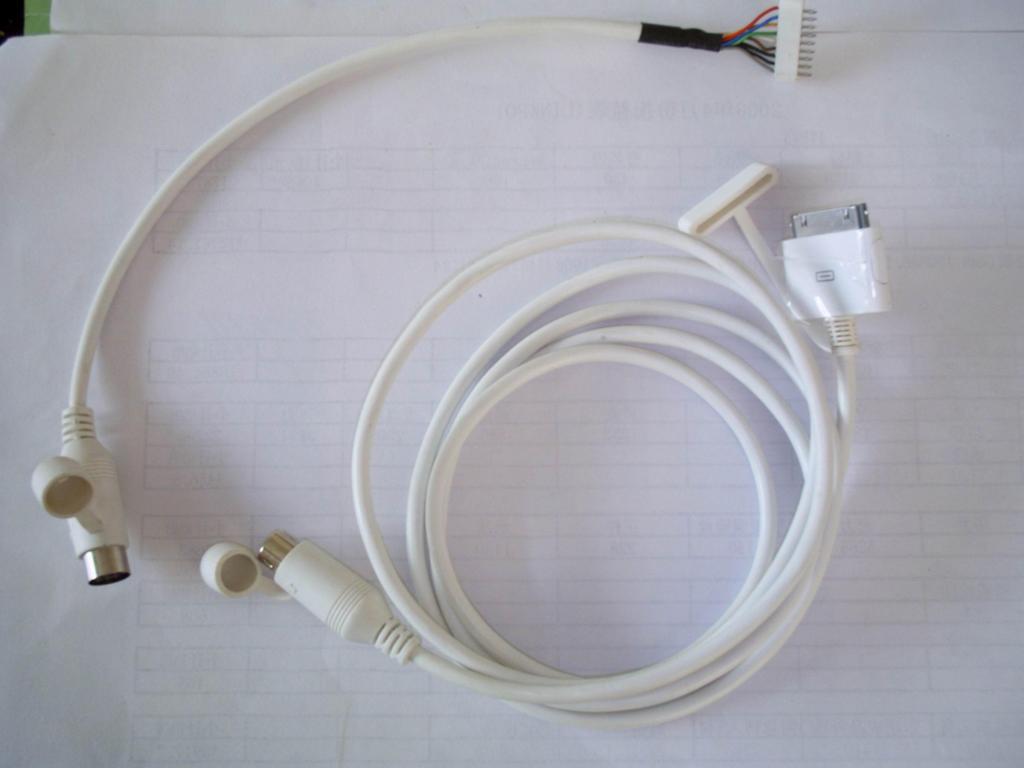 车载DVD IPOD连接线 3