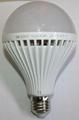 SP-E27/B22 18W Plastic Bulb
