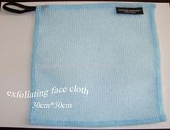 exfoliating wash face cloth wash cloth