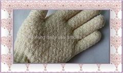super hydro nylon exfoliating bath glove