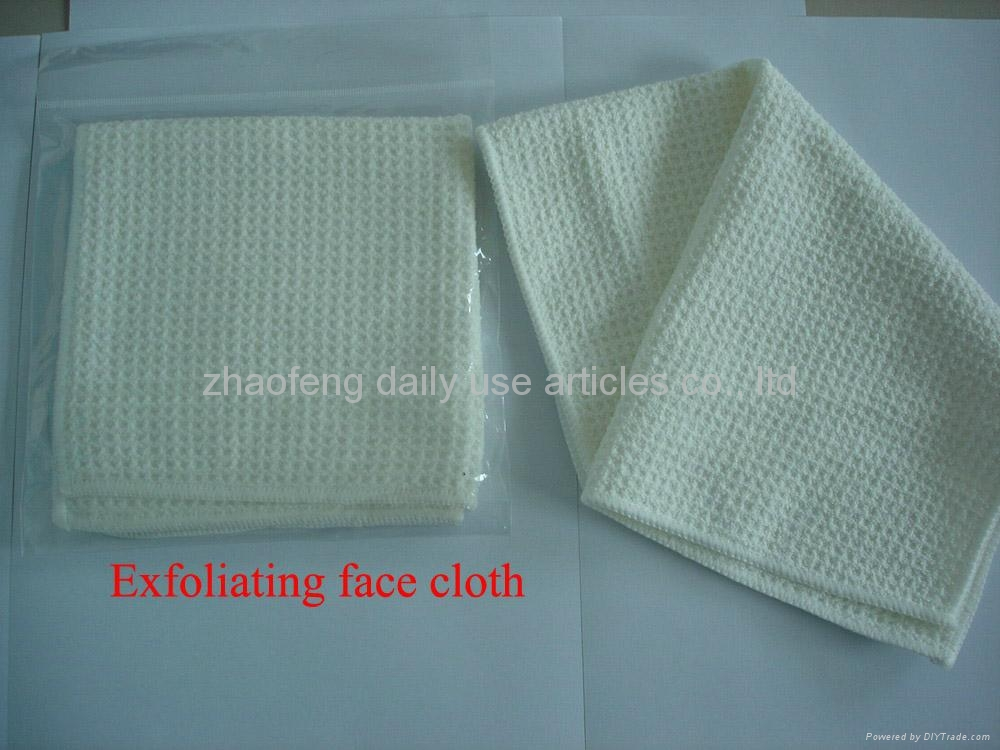 Exfoliating Wash Face Cloth Wash Cloth China