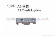 A9 Crosslinks plate