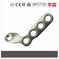斜L型指骨钢板