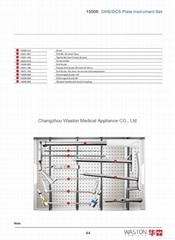 DCS/DHS鹅头钉成套器械--骨科植入物、纯钛、创伤、医用