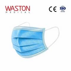 一次性使用民用口罩--個人防護、防疫、Covid-19、PM2.5防護、三層、PPE