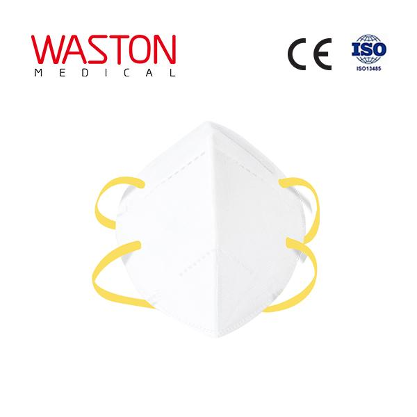 KN95 Disposable Protective Face Mask(Head-strap Type)--Epidemic, Covid-19,FFP1