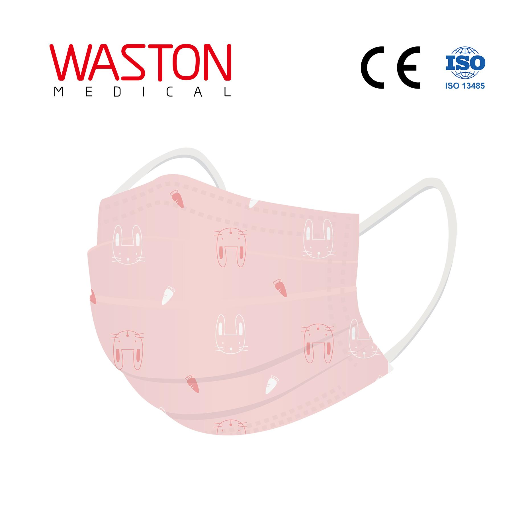 Disposable Children Face Mask-pattern--Child, Epidemic prevention,Type II,BFE≥95 1