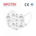 Disposable Children Face Mask-pattern--Child, Epidemic prevention,Type II,BFE≥95 2