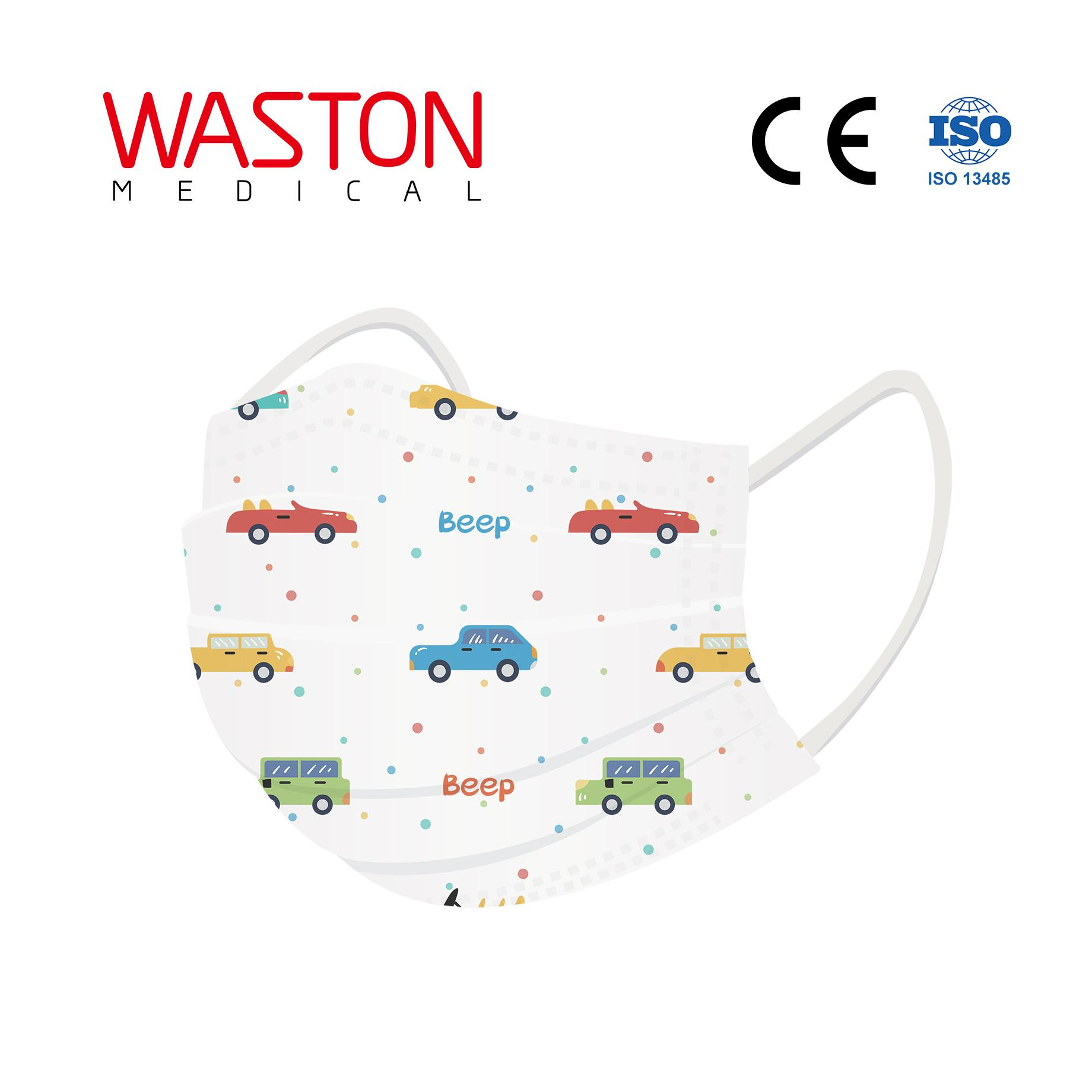 Disposable Children Face Mask-pattern--Child, Epidemic prevention,Type II,BFE≥95 4