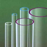 Low OH Quartz Tube for Metal Halide Lamp.