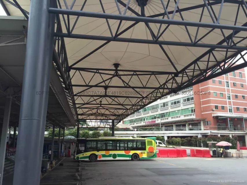 广州汽车东站大巴车停靠站遮阳棚 3