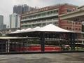 廣州汽車東站大巴車停靠站遮陽棚 1