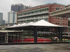 廣州汽車東站大巴車停靠站遮陽棚
