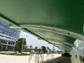 中山PVDF聚酯纖維景觀遮陽棚