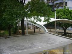 乒乓球景觀膜結構